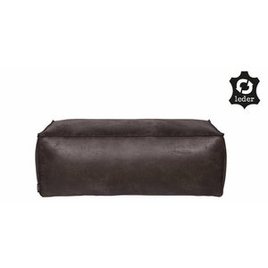 BePureHome Rodeo Puf 43x120 Black