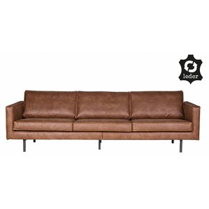 BePureHome Rodeo Sofa 3-seater Cognac