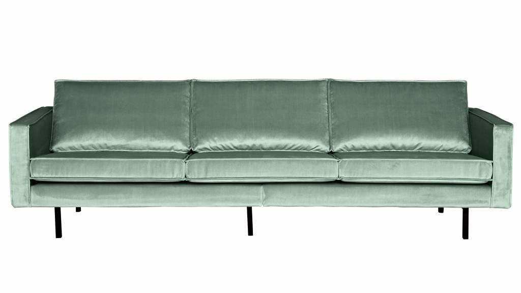 Surprising Bepurehome Sofa 3 Seater Rodeo Velvet Mint Green Machost Co Dining Chair Design Ideas Machostcouk