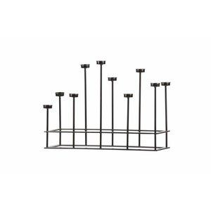BePureHome Kerzenständer Surround Metall schwarz