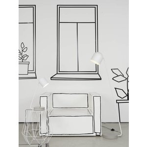 It's about Romi It's about Romi Floor lamp Madrid grey white concrete/metal