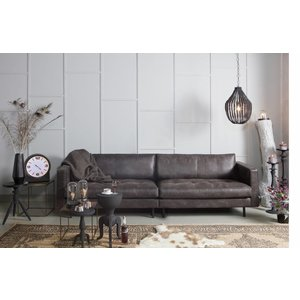 BePureHome BePureHome Couch 3-seater Rodeo Classic recycle leather black