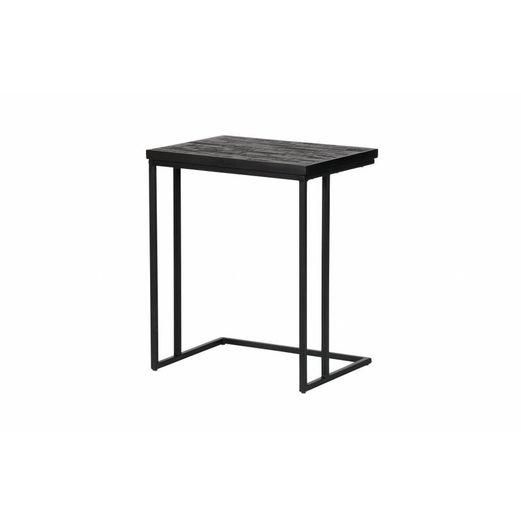 check out a7215 22c89 BePureHome BePureHome Side table Sharing U-shape black wood metal