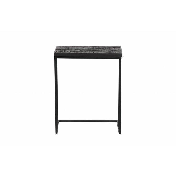 BePureHome BePureHome Side table Sharing U-shape black wood metal