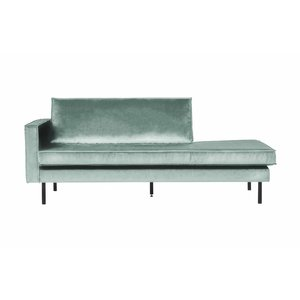 BePureHome Daybed Rodeo Left velvet mint green
