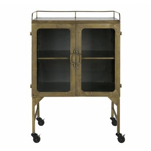 BePureHome Talent Metall Schrank Antique Brass