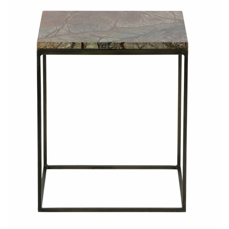 BePureHome BePureHome Side tables Mellow set of 2 marble antique brass copper