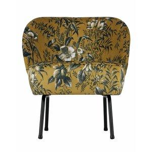 BePureHome Vogue Armchair Velvet Poppy Mustard