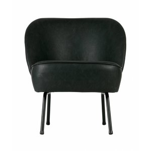 BePureHome Vogue Armchair Leather Black