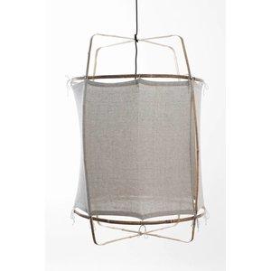 Ay illuminate Ay illuminate Hanglamp Z2 Blond frame met recycled katoen cover