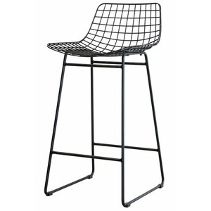 HKliving Barstool metal black