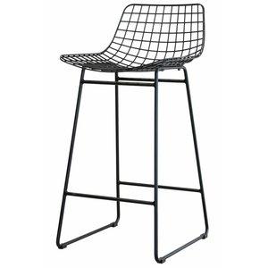 HKliving wire bar stool black