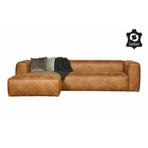 WOOOD Bean Corner Sofa Right Cognac