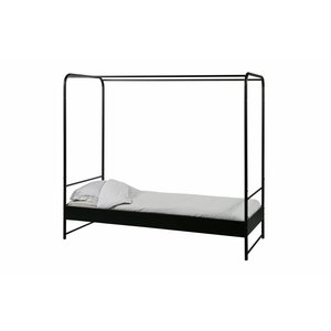 vtwonen Bunk Bed Metal Black 90x200 Cm