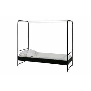 vtwonen Bunk Bett Metall Schwarz 90x200 Cm