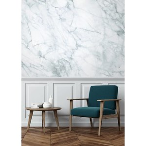 KEK Amsterdam Photo Wallpaper Marble white-grey