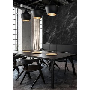 KEK Amsterdam Photo Wallpaper Marble black-grey