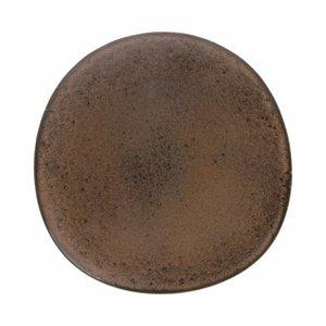 HKliving Dinerbord Bold & Basic keramiek terra Ø28,5cm