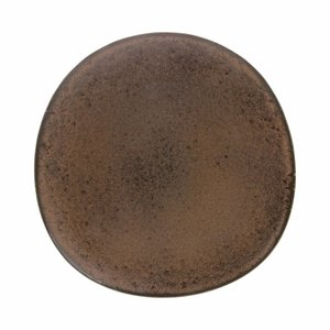 HKliving Teller Bold & Basic Keramik terra Ø28,5cm