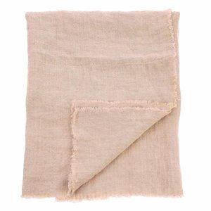 HKliving linen table cloth salmon (140x220)