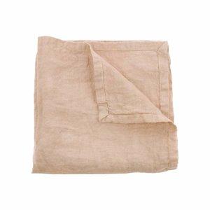 HKliving linen napkin salmon set of 2 (45x45)