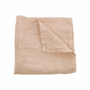 HKliving Napkin Linen salmon pink Set of 2