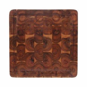 HKliving acacia cutting board square