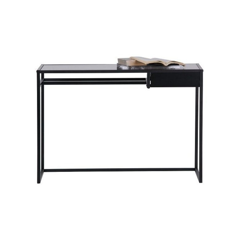 WOOOD WOOOD Desk Teun metal black