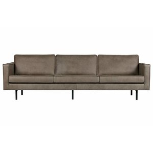 BePureHome Sofa 3-sitzer Rodeo Elephant Skin grau