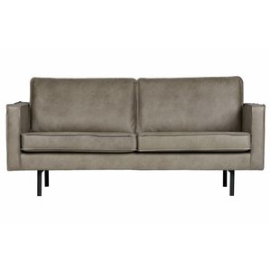 BePureHome Sofa 2,5-Sitzer Rodeo Elephant Skin grau