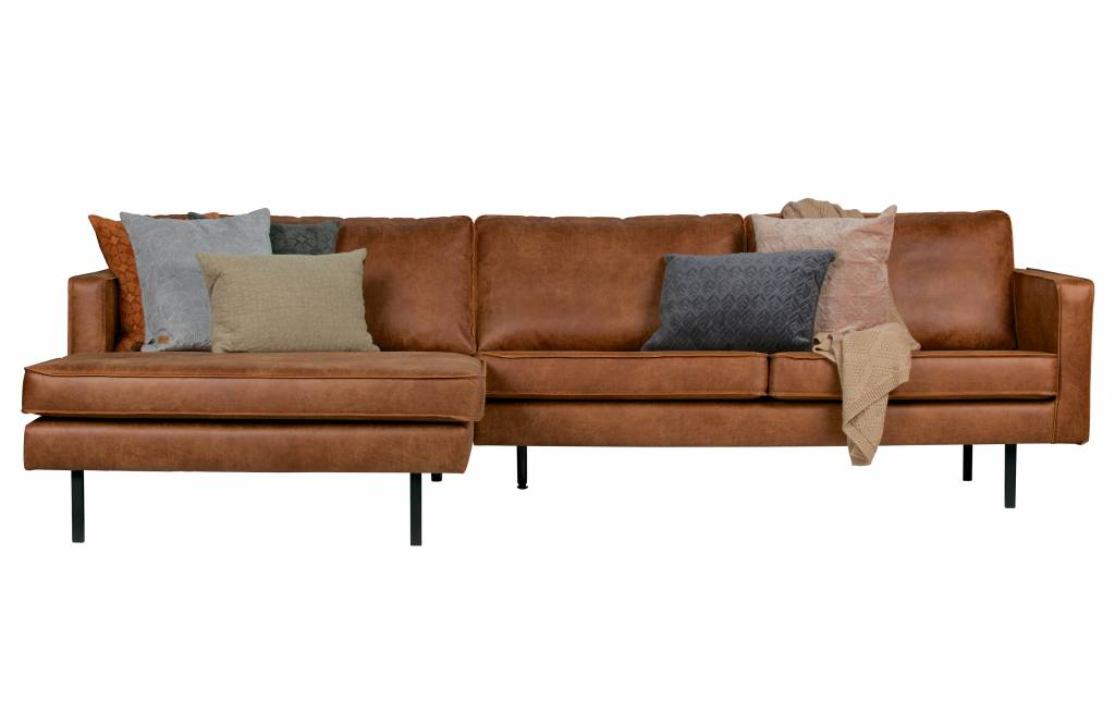 Amazing Bepurehome Bepurehome Corner Sofa Left Rodeo Classic Cognac Pabps2019 Chair Design Images Pabps2019Com