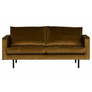 BePureHome Sofa 2,5 seater Rodeo Velvet honey