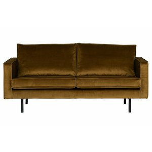 BePureHome Sofa 2,5-Sitzer Rodeo Velvet honey
