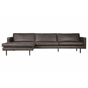 BePureHome Corner Sofa Left Rodeo Classic black