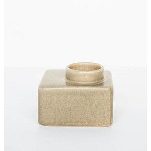 Urban Nature Culture Amsterdam Wax light holder stone beige