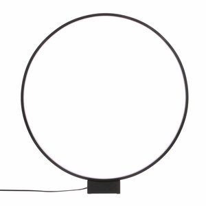HKliving Table lamp Luminous Circle black