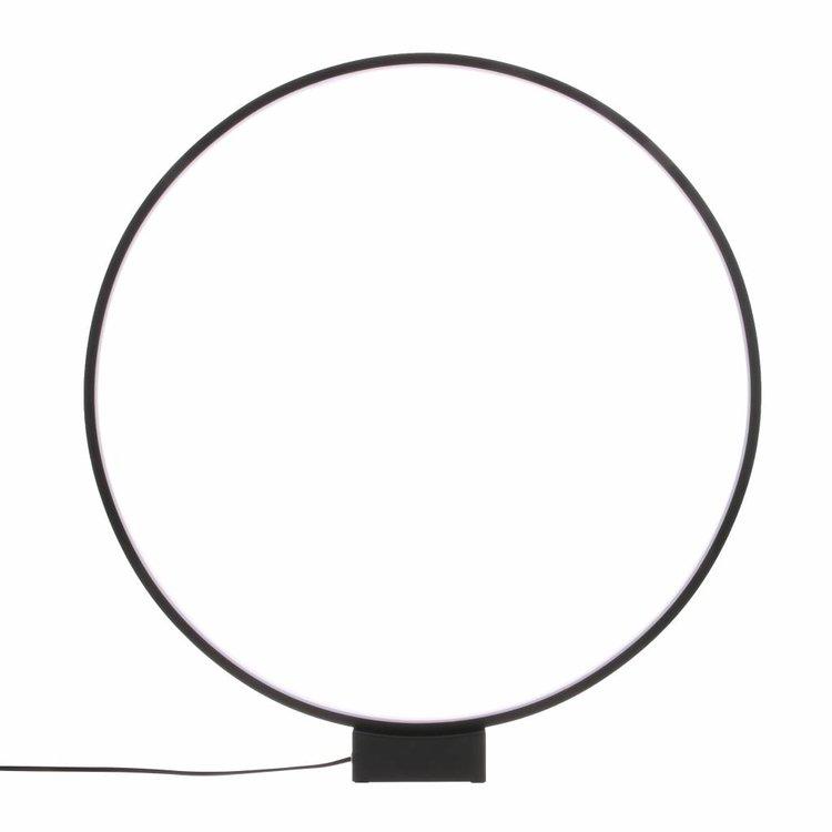 HKliving HKLiving Table lamp Luminous Circle black