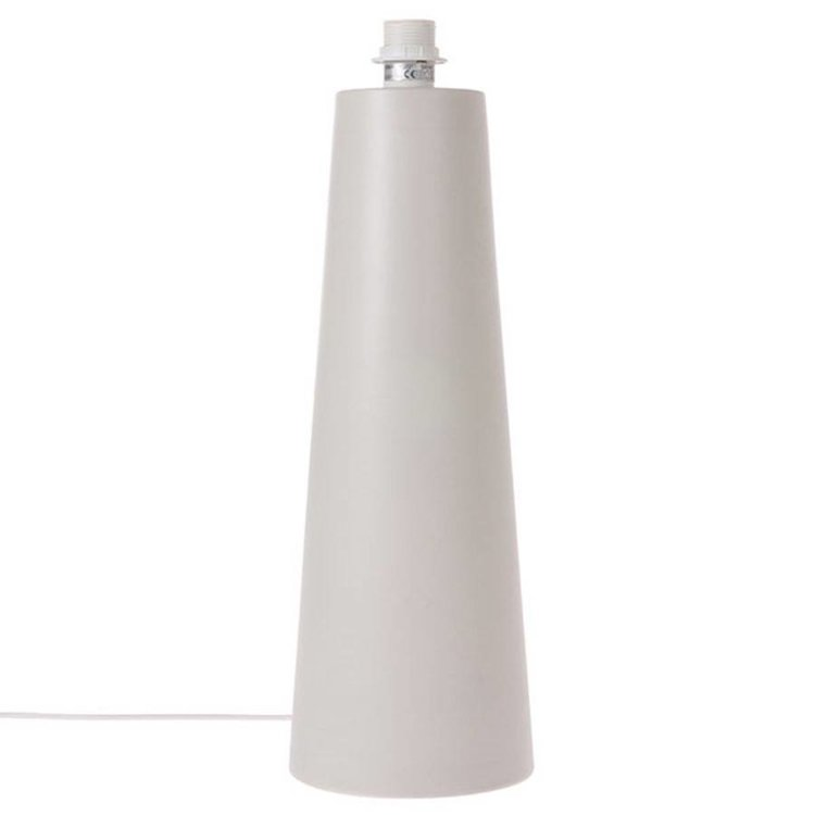 HKliving HKliving Lampvoet Kegel L mat lichtgrijs