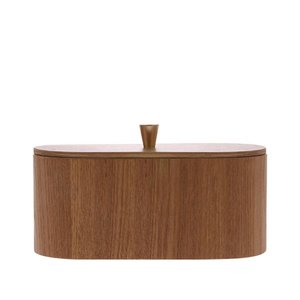 HKliving willow wooden storage box