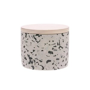 HKliving Scented Candle Soy Terrazzo April M
