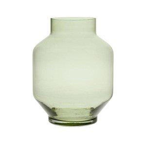 HKliving green glass vase L