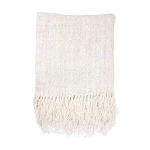 HKliving linen throw white (130x170)