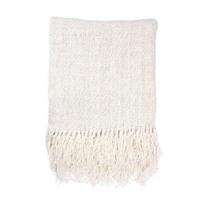 HKliving Throw Linen white 130x170cm