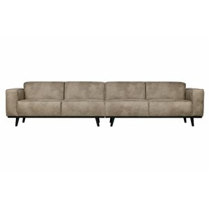 BePureHome Sofa Statement XL 4-sitzer eco leder elephant skin