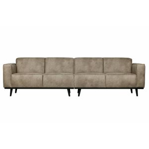 BePureHome Sofa Statement 4-sitzer eco leder elephant skin