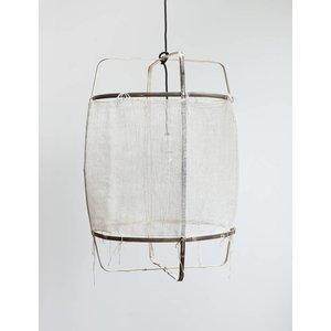 Ay illuminate Hanglamp Z11 zwart zijde wit kasjmier