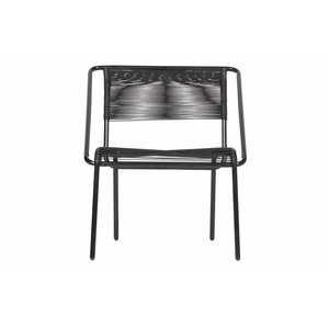 BePureHome Wisp Arm Chair Black, set van 3