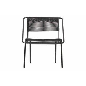 WOOOD Stuhl Wisp schwarz Set von 4