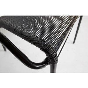 BePureHome WOOOD Chair Wisp black set of 4