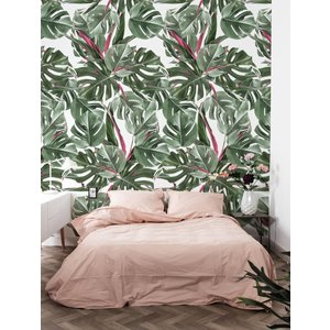 KEK Amsterdam Photo Wallpaper Botanical Monstera white